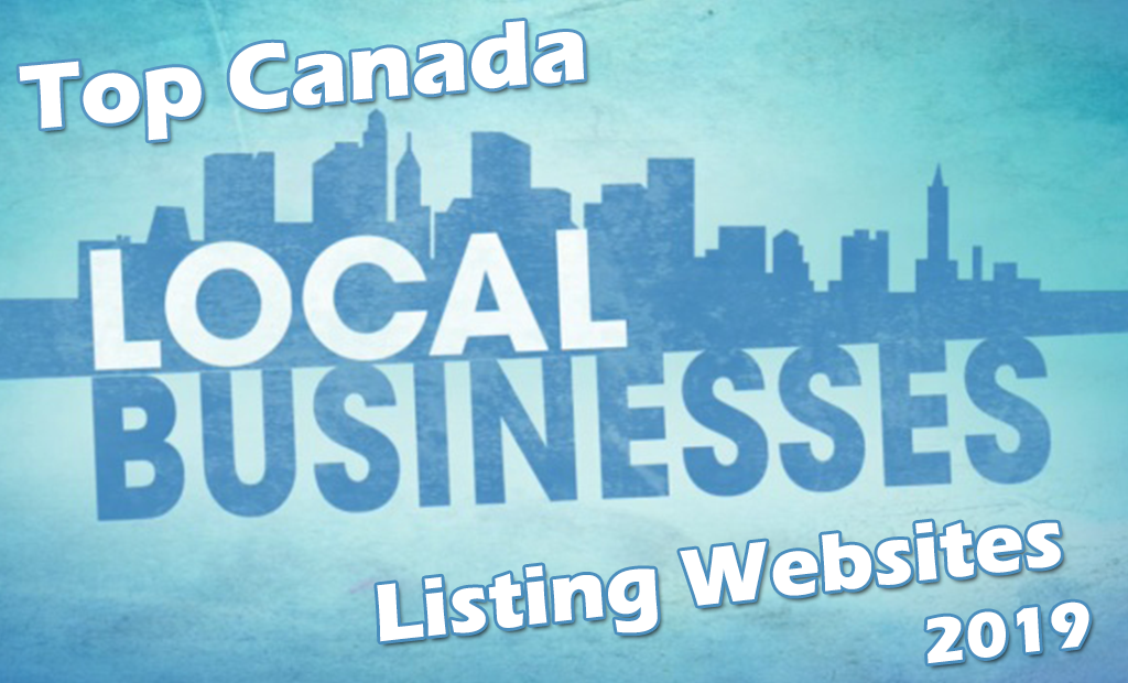 Top Canada Local Business Listing Sites List 2019