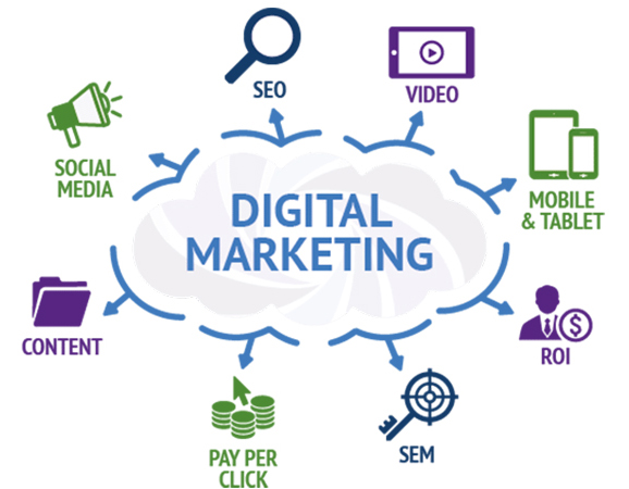 Digital Marketing Vertices