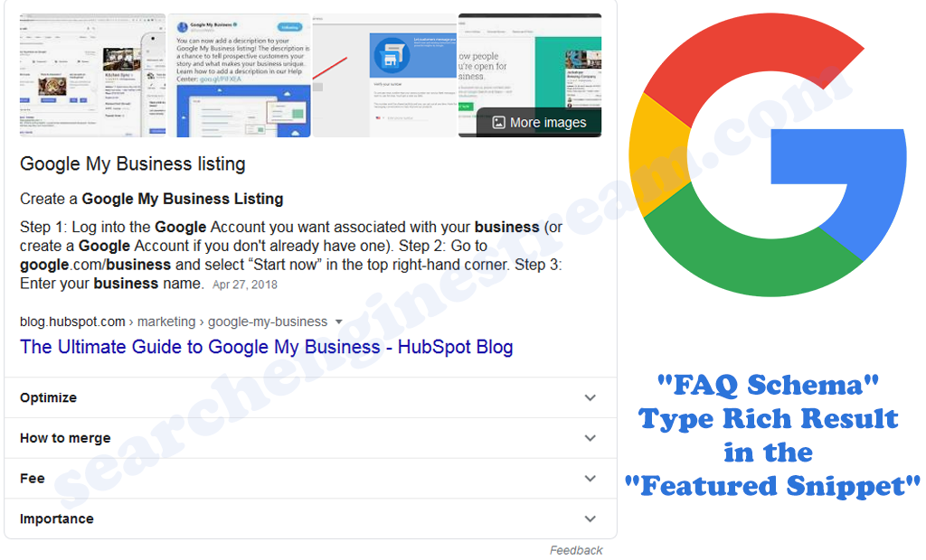 Google Updated FAQ Type Rich Result in the Featured Snippet