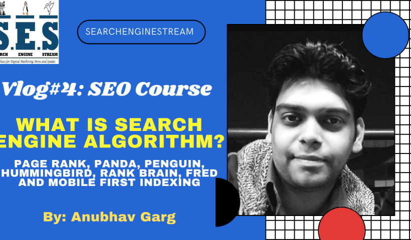 What is Search Engine Algorithm Page Rank, Panda, Penguin, Hummingbird, RankBrain, Fred and Mobile First Indexing