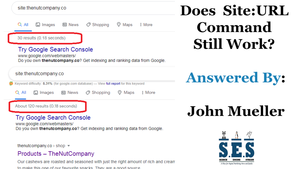 Does Site:URL Command Still Work? Answered By John Mueller
